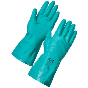 Image of Nitrile rubber gloves, P-A040050