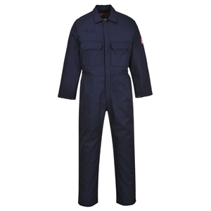 Image of Flame retardant coverall, Navy, P-C01017