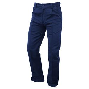 Image of 9oz service trousers, Navy, P-C02061