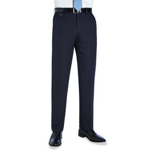Image of Polyester office trousers, Navy, P-C02C100