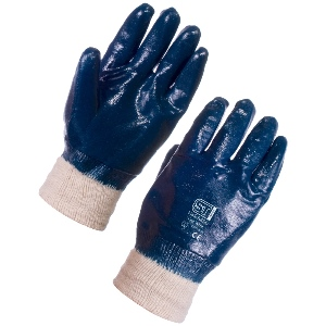 Image of Nitrile fully coated gloves, P-A071398