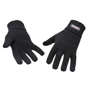 Image of Thermal knitted full-finger gloves, P-A082906
