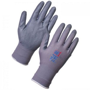 Image of Nitrile foam gloves, P-A094042