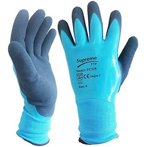 Image of Waterproof palm coated gloves, P-A10328