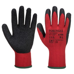 Image of Premium latex palm coated gloves, P-A104070