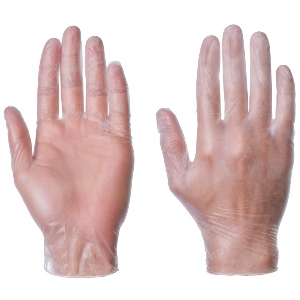 Image of Vinyl disposable gloves, P-A114101