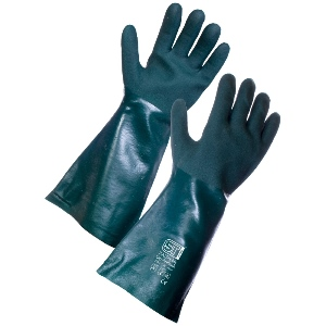 "Image of PVC double dipped gauntlets, 16"", P-A156316"