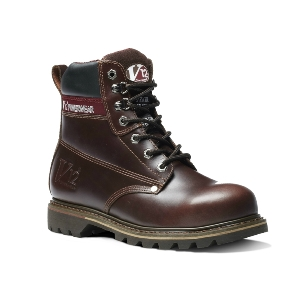 Image of V12 Boulder derby boot, brown, P-B12V1236