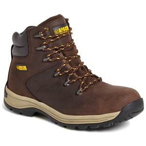 Image of Apache nubuck hiker boot, brown, P-B18AP315CM