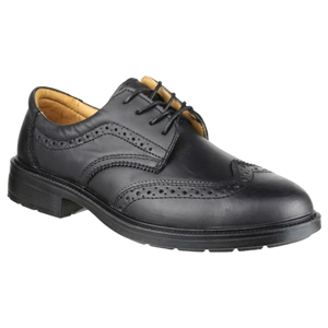 Image of City brogue safety shoe, P-B351008