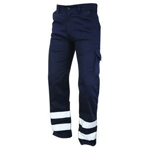 Image of Cargo trousers with reflective bands, P-C022510