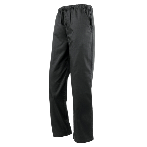 Image of Chefs trousers Black P-C04DC18B