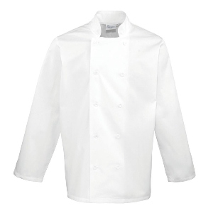Image of Long sleeve chefs jacket Black P-C04PR657