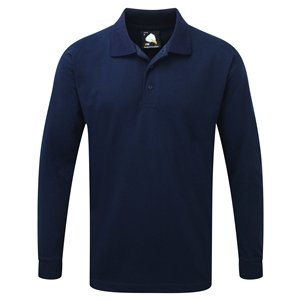 Image of Long sleeve polo shirt, P-C060207