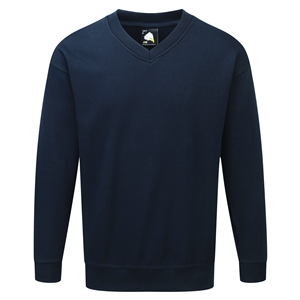 Image of Deluxe v-neck sweatshirt, P-C060305
