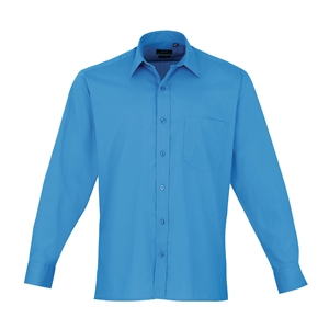 Image of Long sleeve classic shirt Purple P-C060574
