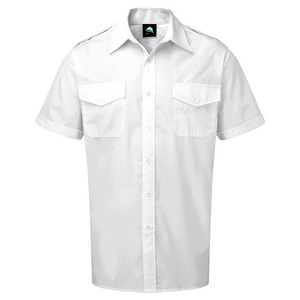 Image of Short sleeve pilot shirt Sky P-C06JC2066