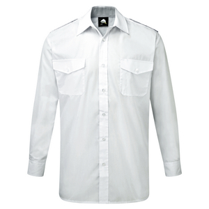 Image of Long sleeve pilot shirt Sky P-C06JC2068