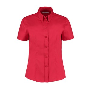 Image of Ladies short sleeve oxford shirt, P-C06KK701