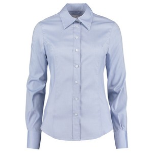 Image of Ladies long sleeve oxford shirt, P-C06KK702
