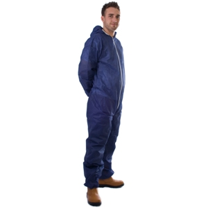 Image of Polypropylene coverall Blue P-C081425