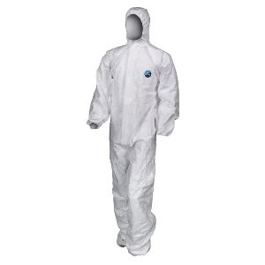 Image of Tyvek Classic Xpert type 5/6 hooded coverall White P-C081428