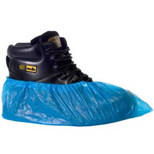 Image of Polythene overshoes Blue P-C082402