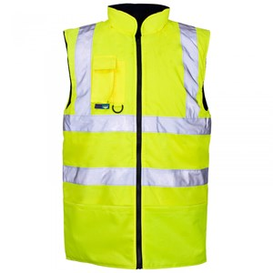 Image of Hi-vis bodywarmer Orange P-C15SHV08