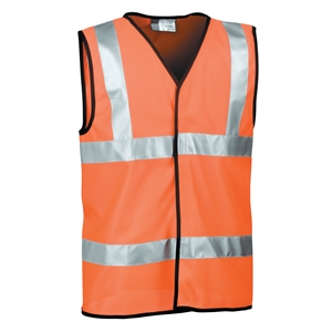 Image of Hi-vis waistcoat, orange, P-C15SHV09
