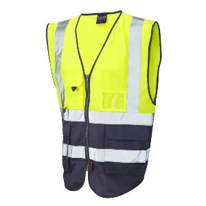 Image of Executive hi-vis waistcoat, P-C15SHV19
