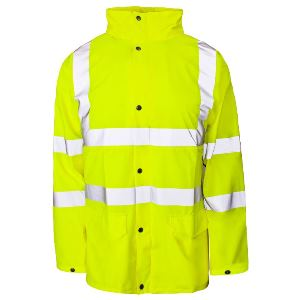 Image of Hi-vis Weatherflex jacket Yellow P-C15SHV26
