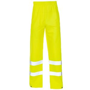 Image of Hi-vis Weatherflex overtrousers Yellow P-C15SHV27