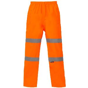 Image of Hi-vis breathable waterproof trousers, P-C15SHV29