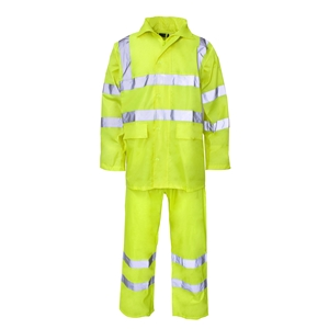 Image of Rainchief 2-piece hi-vis rainsuit Orange P-C15SHV30
