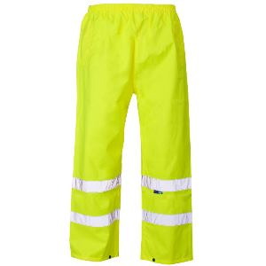 Image of Hi-vis waterproof overtrousers, P-C15SHV40