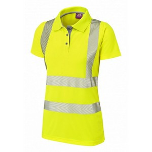 Image of Hi-vis Coolviz Ultra polo shirt ladies, P-C15SHV62