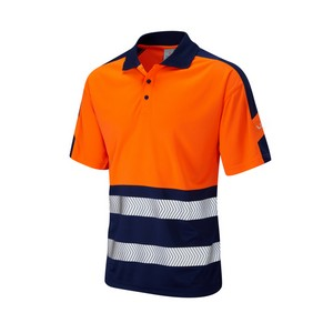 Image of Hi-vis Two-Tone Polo Shirt, P-C15SHV65