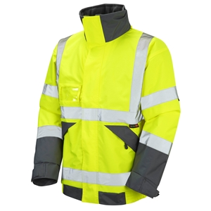 Image of Premium hi-vis bomber jacket Orange P-C15SHV71