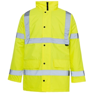 Image of Hi-vis traffic jacket Orange P-C15SHV77