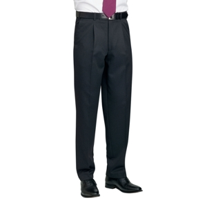 Image of Mens single pleat trousers, P-C248515