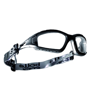 Image of Bolle Tracker II spectacles, clear lens, P-E014828