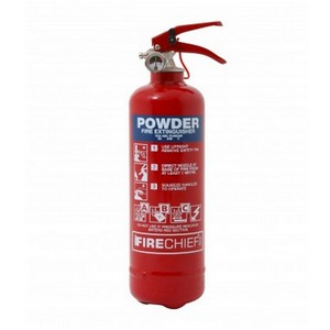 Image of Dry powder fire extinguisher, P-K03ABC01