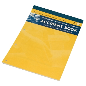 Image of Accident book, P-K15GSX0309