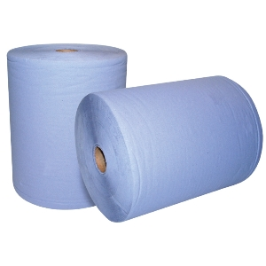Image of 2-ply wiper rolls, P-L07WR007