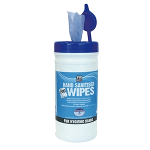 Image of Hand sanitiser wipes, P-M91H8085