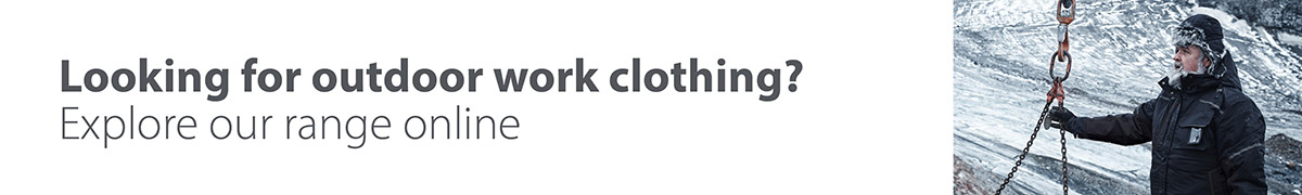 Explore our outdoor work clothing range online