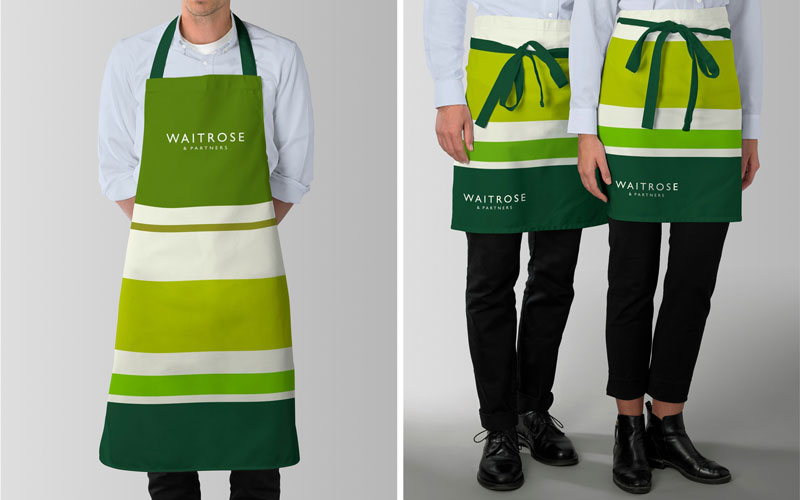 New Waitrose uniform