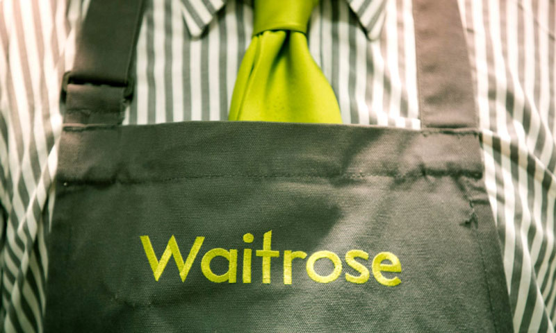 Old Waitrose uniform