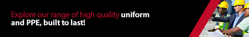 Explore our range of uniform and PPE