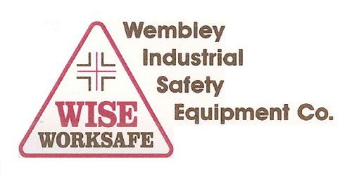 The first WISE Worksafe logo, when this was established as a trading name in 1995